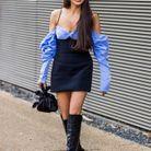 Fashion Week de Londres : des épaules dénudées
