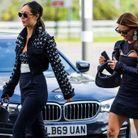 Fashion Week de Londres : le noir en total look