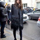 Mode street style femmes paris defiles haute couture 13