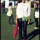 Mode tendance street style festival we love green 9383