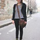 Mode street style tendance look jean Ashley