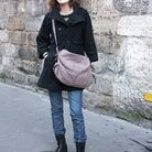 Mode street style tendance look jean camille