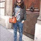 Mode street style tendance look jean Christina
