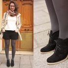 Mode street style chaussures chloe