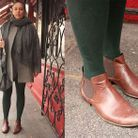 Mode street style chaussures delphine