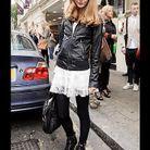 Mode street style look tendance cuir fatale doll
