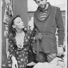 Diane von Furstenberg avec son ex mari le Prince Egon en 1973