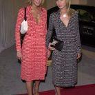 Paris et Nicky Hilton en robe DvF en 2001