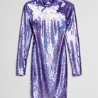 Robe à paillettes Bershka