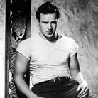 "Marlon Brando dans ""Un tramway nommé désir"""