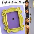 Le cadre jaune dans l'appart de « Friends »