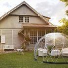 Tente de jardin igloo