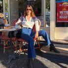 Le joli cardigan Rouje de Jeanne Damas