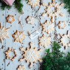 Biscuits étoilés pain d'épices