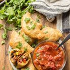 Empanadas vegan aux haricots noirs