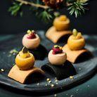 Bouchées au bloc de foie gras de canard