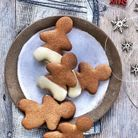 Repas de Noël sans gluten : Christmas cookies