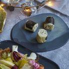 Repas de Noël sans gluten : Makis céleri-truffe