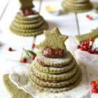 Sapin gourmand en biscuits