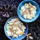 Bouillon truffé aux ravioles