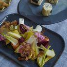 Salade de fruits et légumes d'hiver