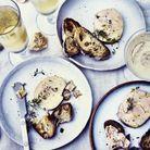 Terrine de foie gras saké-gingembre