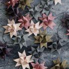Bricolage de Noël des boules de noël façon origami