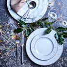 Une décoration de table classique mais élégante