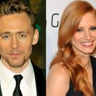 Jessica Chastain et Tom Hiddleston
