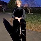 Céline Dion en sorcière