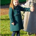 En hiver, le manteau boutonné est un classique dont la princesse ne se lasse pas