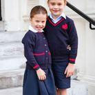 Un style BCBG pour la fratrie de Cambridge, même pour aller à l'école