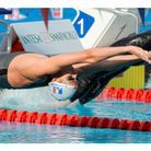 En combinaison de natation