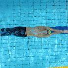 Une belle image du nageur