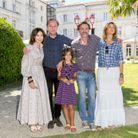Alice Taglioni prend la pose avec Elsa Zyberstein, Arnaud Viard, Elsa Damour Cazebonne et Jean-Paul Rouve