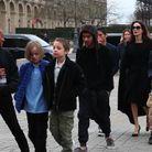 La tribu Jolie-Pitt au complet