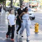 Angelina Jolie en sortie familiale avec ses enfants