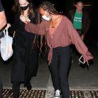 Angelina Jolie et sa fille Zahara au concert de Ziggy Marley à Los Angeles