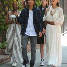 Zahara, Pax Thien, Shiloh et Angelina Jolie