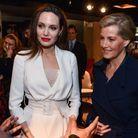 Angelina Jolie et Sophie Rhys-Jones, comtesse de Wessex