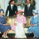 Quatre générations à Buckingham Palace
