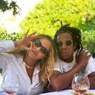 Beyoncé et Jay-Z en terrasse