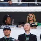 Jay-Z et Beyoncé en tribunes