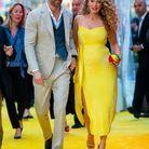 Arrivée sur le tapis jaune !