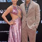 Blake Lively ravissante en robe de sequins roses au bras de Ryan Reynolds