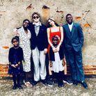 Le Thanksgiving de Madonna avec ses six enfants réunis sur une même photo