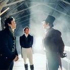 Les trois frères Bridgerton chantent sur le tournage de la série