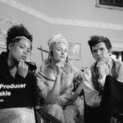 Ruby Barker, Jessica Madsen et Luke Newton