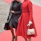Brigitte Macron et la reine Mathilde