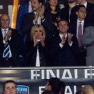 Le couple Macron a applaudi les joueurs de Castres pour leur victoire